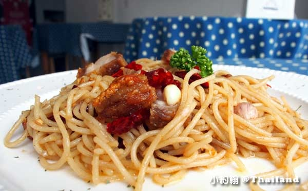 清邁寧曼Nimmanistro Spaghetti with chilli義大利麵2.jpg