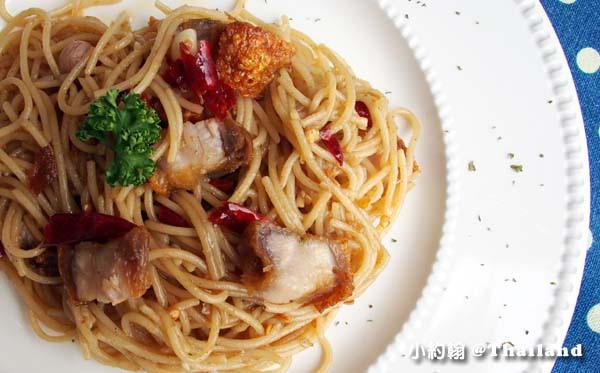 Nimmanistro Spaghetti with chilli