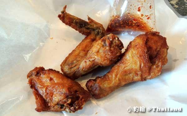 清邁寧曼小吃Nimman soi6 TESCO炸雞攤7