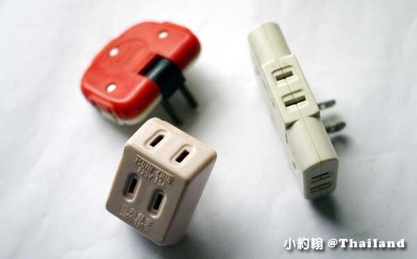 泰國旅館自備插座擴充器