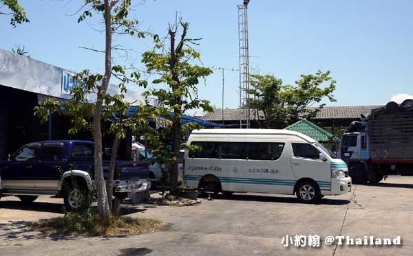 曼谷到華欣Hua Hin小巴minivan