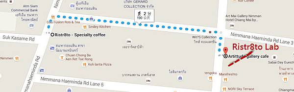 Ristr8to Lab@Nimman Soi 3 MAP