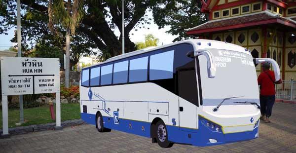 曼谷機場巴士Roong Reuang Coach開往華欣Hua Hin
