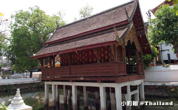 清曼寺Wat Chiang Man水池花園