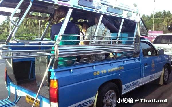 藍色雙條車往安帕瓦