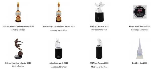 Tria Wellness SPA Prestigious Awards