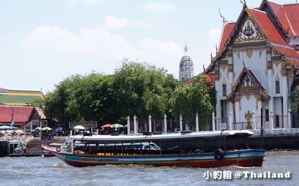 Chao Phraya River Boat昭披耶河快船