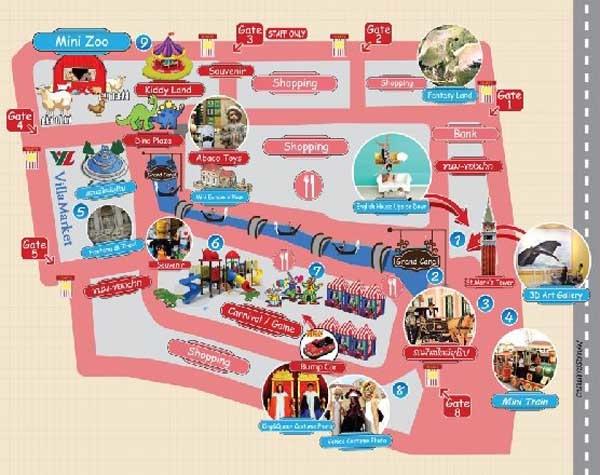 The Venezia Hua Hin,Cha-am map.jpg