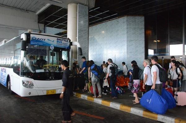 Shuttle Bus Donmueang – Suvarnabhumi Airport