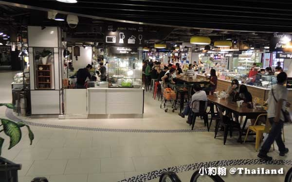 清邁maya百貨Food court美食街