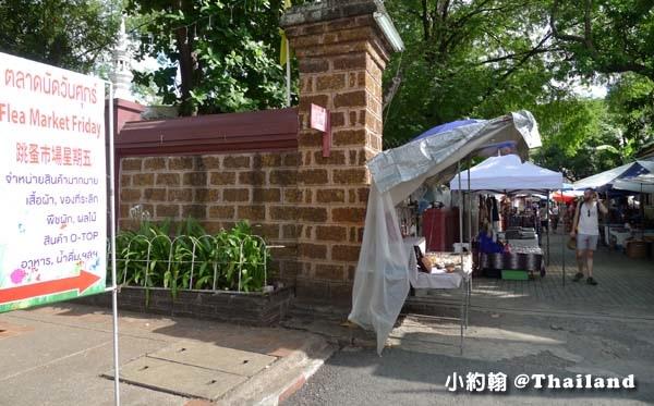 清邁週五跳蚤市集Wat Phan On佛寺1.jpg