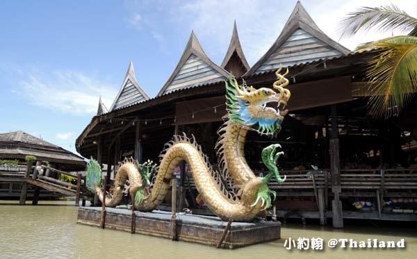 芭達雅四方水上市場Pattaya Floating Market金龍.jpg