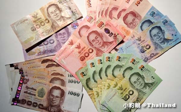 入境泰國身上須要2萬泰銖或等值外幣