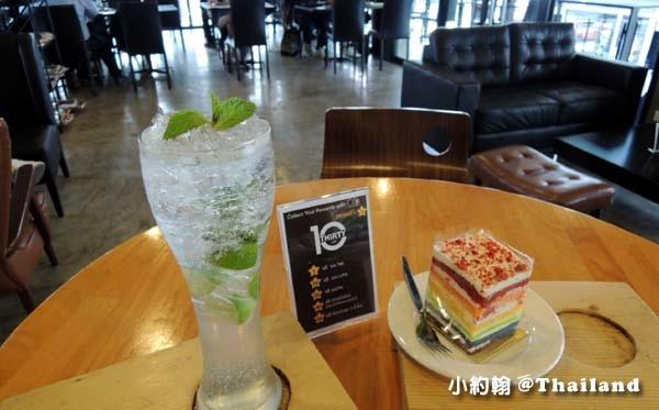 曼谷型男咖啡廳10 Thirty Cafe彩虹蛋糕.jpg