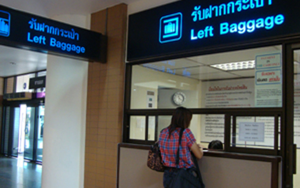 Don Muang Airport Luggage Storage Services