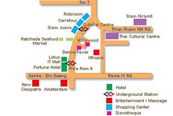 暹羅天使劇場MAPs
