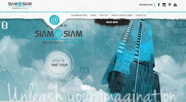 Siam at Siam Design Hotel Pattaya WEBSITE