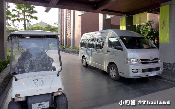 Rest Detail Hotel Hua Hin shuttle bus