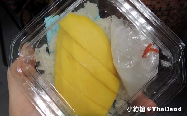 曼谷機場Magic Food Point平價美食街芒果糯米飯.jpg