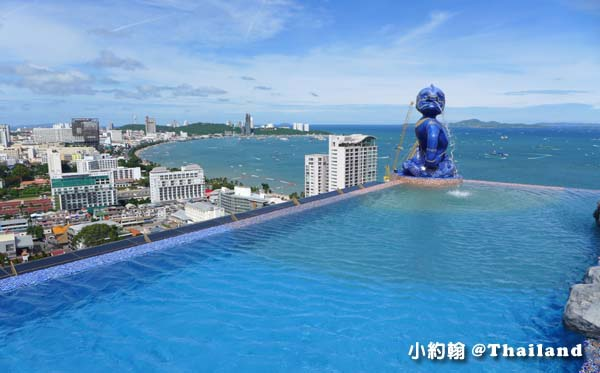 Siam@Siam Pattaya Double Deck sky Pool3.jpg