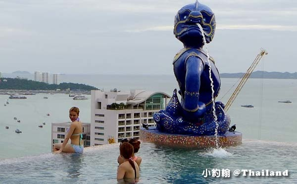 Siam@Siam Pattaya Double Deck sky Pool9.jpg