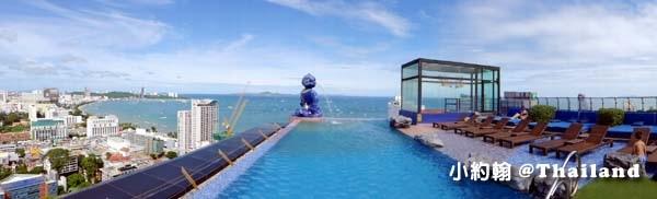 Siam@Siam Design Hotel Pattaya芭達雅海景