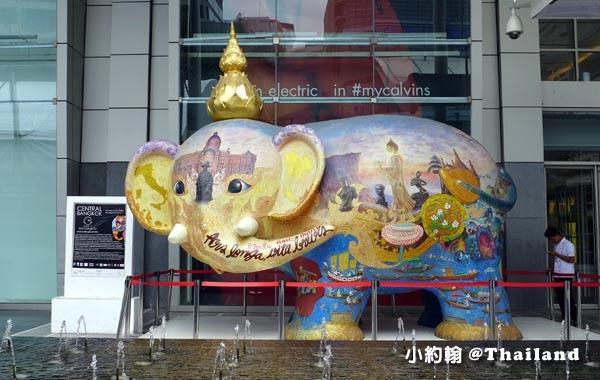 Central World bangkok plaza elephant.jpg