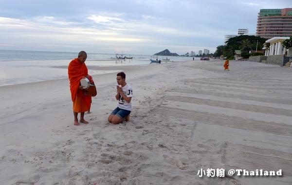 InterContinental Hua Hin華欣海灘布施和尚1.jpg