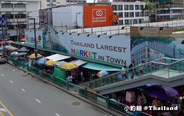 曼谷水門市場Platinum Market 2016