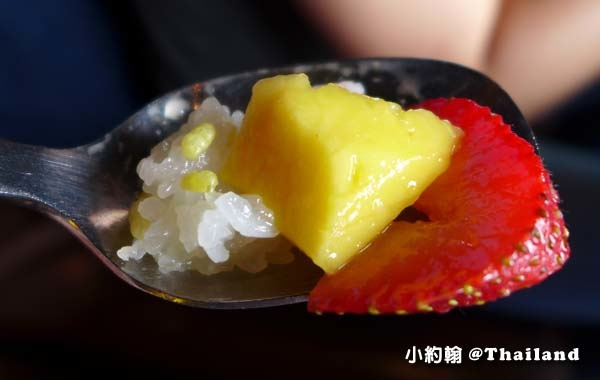 Big Fish Siam@Siam Pattaya餐廳芒果草莓糯米飯3.jpg