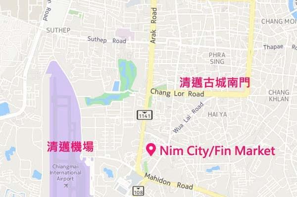 Fin Market Chiangmai Farmer's market MAP.jpg