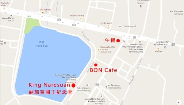 King Naresuan the Great Mounment(shrine)MAP