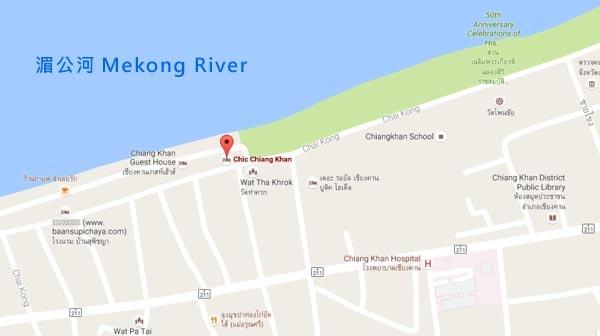 清康飯店Chic Chiang Khan Hotel map.jpg