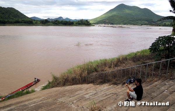 清康碼頭搭船遊湄公河Mekong River2.jpg