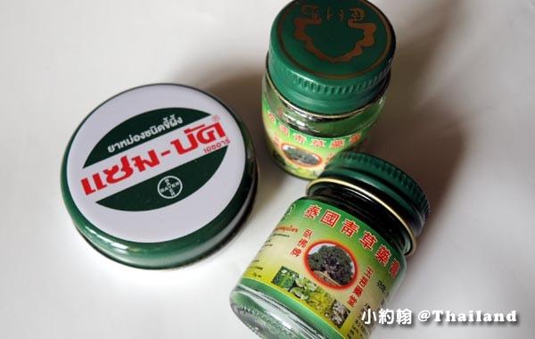 泰國卧佛佛牌綠藥膏Bayer Zam Buk青草精油膏