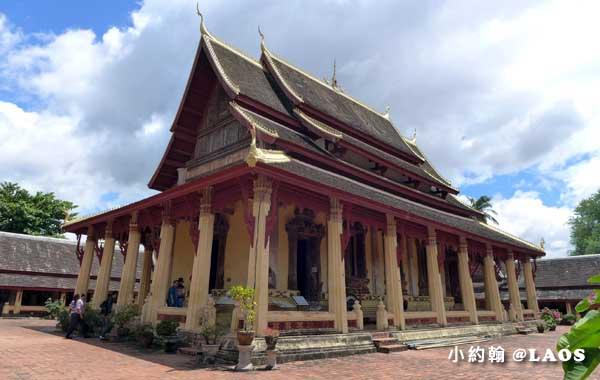 寮國永珍佛寺Wat Sisaket西沙科寺1.jpg