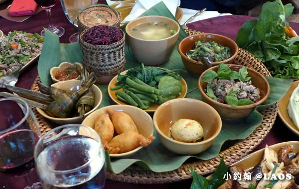 Kualao Restaurant Laos Food set1