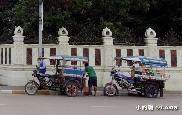 寮國旅遊- tuktuk嘟嘟車