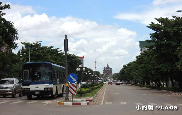 寮國永珍地標Patuxay凱旋門