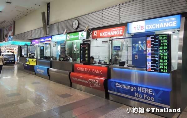 抵達Don Muang曼谷廊曼機場 換泰銖.jpg
