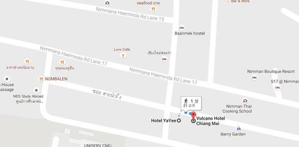 Hotel YaYee Chiang Mai map.jpg