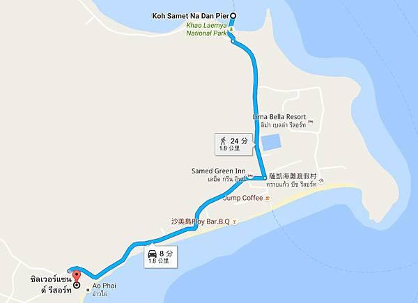 Koh Samed 東邊沙灘步行.jpg