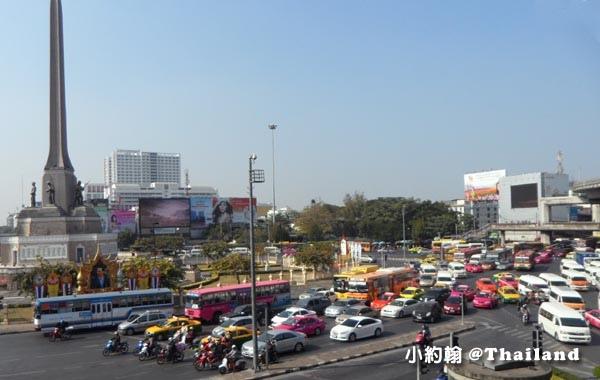 曼谷Victory Monument勝利紀念碑站 Minivan小巴2.jpg