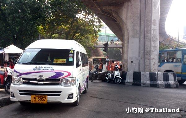 曼谷Victory Monument勝利紀念碑站 Minivan小巴1.jpg