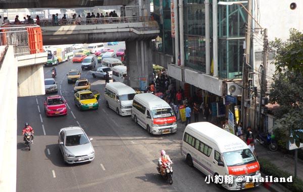 曼谷Victory Monument勝利紀念碑站 Minivan小巴8.jpg