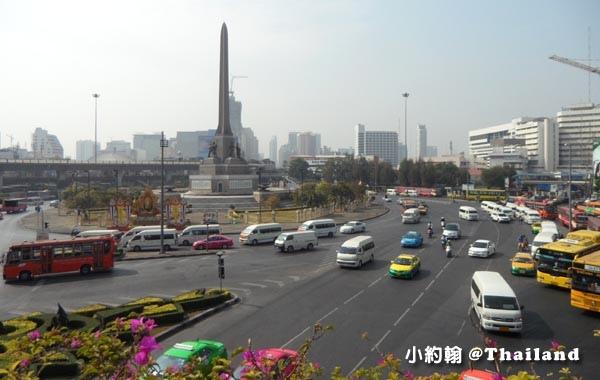 曼谷Victory Monument勝利紀念碑站 Minivan小巴0.jpg