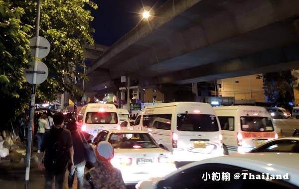 曼谷Victory Monument勝利紀念碑站 Minivan小巴11