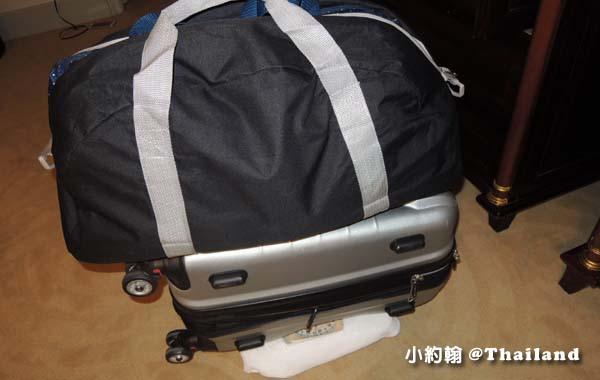 泰國曼谷旅遊行李超重1