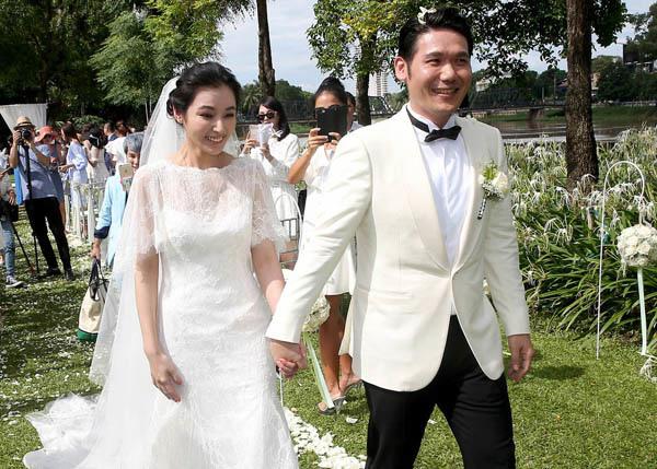 陳怡蓉於泰國清邁度假飯店Anantara Chiang Mai Resort舉行夢幻婚禮