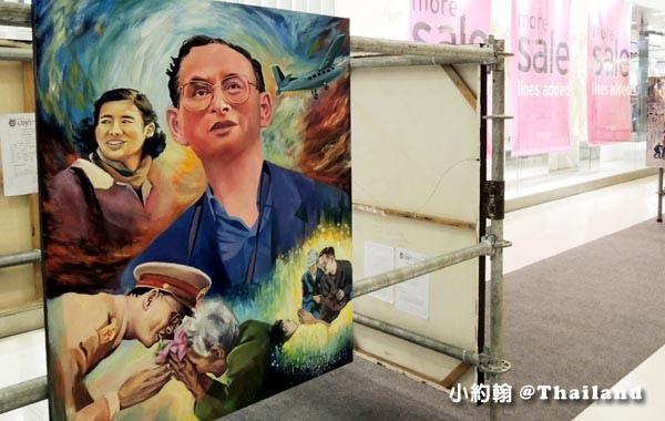 泰皇蒲美蓬Bhumibol Adulyadej畫展2.jpg